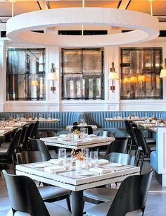 Inside Café Clover, a new Manhattan eatery with interiors devised by designer Steven Gambrel