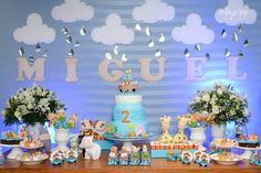 Encontrando Ideias: Festa Arca de Noé!!