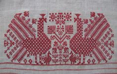Russian Embroidery, Folk Embroidery, Embroidery Patterns, Saree Embroidery Design, Creative Embroidery, Old Symbols, Russian Culture, Cross Stitch Charts, Filet Crochet