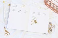 Bullet Journal, BuJo, Month, Layouts, September