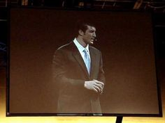 Tim Tebow's Giving Inspirational Speech at Lipscomb University