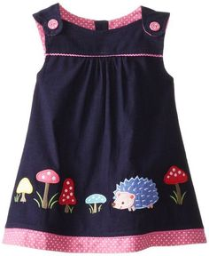 COMO HACER JUMPER PARA NIÑA PASO A PASO COSTURA FACIL - Tutoriales de costura paso a paso Kids Dress Wear, Little Girl Outfits, Cute Outfits For Kids, Little Girl Fashion, Toddler Girl Dresses, Kids Fashion, Baby Girl Dress Design, Baby Girl Dress Patterns, Kids Clothes Patterns