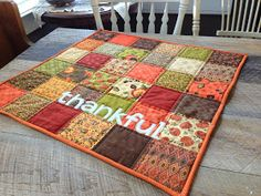 I can't believe it's November 14th already!  I am sharing my tutorial for my Thankful Table Quilt over on the Therm O Web Blog today. ...
