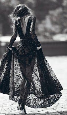 ♔ Black Lace