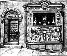 W.A. Brearey, 1892.W.A. Brearey & Son, Pharmaceutical Chemists, Prospect Hill Douglas.