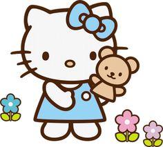 9 Bellos Cliparts e imágenes de Hello Kitty. Descarga Gratis.   Marcos Gratis para Fotografías.