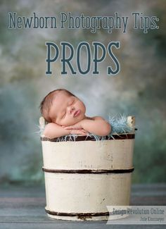 We all get a creative blocks and that's why we love offering you some newborn photography tips. Let's get the creativity flowing with some fun ideas on working with these unique newborn props!