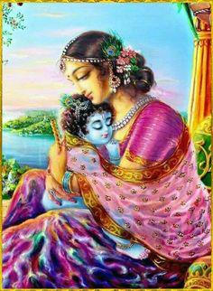 Mother Yoshada with baby Krishna Krishna Lila, Little Krishna, Cute Krishna, Radha Krishna Photo, Krishna Radha, Durga, Bal Hanuman, Radha Rani, Shree Krishna Wallpapers