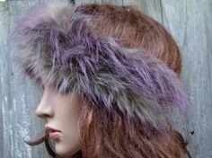 LION & RED-VIOLET Headband Ear Warmer Head Headband Wide by PepiZ