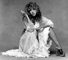 Stevie Nicks is the only person that looks incredibly sexy whilst telling you to go fuck yourself