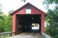 Northfield Falls covered bridges