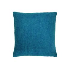 Heal's Supersoft Mohair Cushion Teal