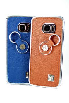 #Carcasa #samsung #galaxy #s7 #edge #coleccion #colores #azul #marron #piel #autentica #cuero #Finger360 #moda #diseño #proteccion #smartphone