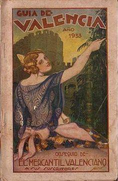 cartel guia valencia 1933