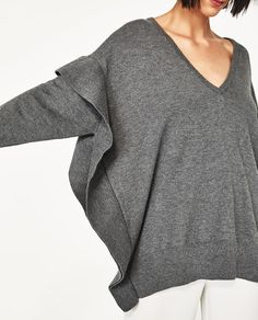 Image 6 of FLOUNCE SWEATER from Zara