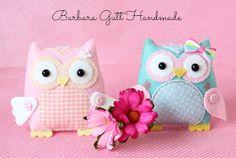 Barbara Handmade...: Wszędzie sowy / Owls everywhere :)