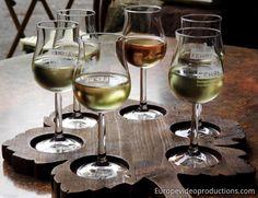 Mosel Wine Glasses in Bernkastel-Kues in Germany