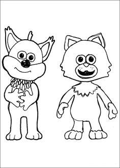 Shaun the sheep Tegninger til Farvelægning. Printbare Farvelægning for børn. Tegninger til udskriv og farve nº 32