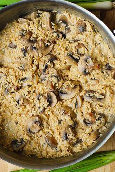 Easy mushroom risott (gluten free)