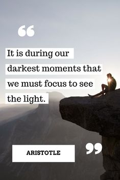 Our Darkest Moments - We Must Focus To See The Light