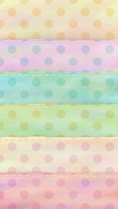 Stripes and Polka Dots Wallpaper