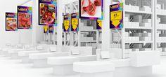 дизайн интерьера магазина Лента