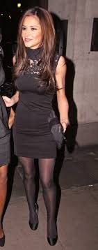 Cheryl Cole in Pantyhose, Tights - a photo on Flickriver Sexy Outfits, Cute Outfits, Girls Aloud, Cheryl Cole, Nice Legs, Black Tights, Leather Skirt, Classy, Style Inspiration