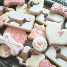 Dachshund Cookies Doxies
