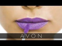 Long-Lasting Lipstick Intensity | mark. Pout Lip Paints | Avon - YouTube