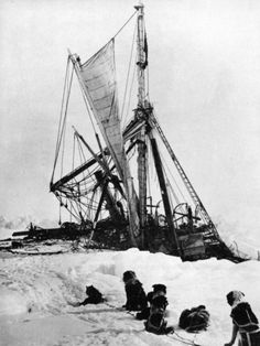 An expedition to find Ernest Shackleton's lost ship in Antarctica, set for next year. British scientists organizing an expedition to find the wreckage of Ernest… Ship Dog, Captain Scott, Roald Amundsen, Heroic Age, Honfleur, Abandoned Ships, Exploration, Le Havre, Tall Ships