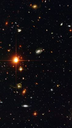 Countless galaxies in this Hubble deep-field image. Hubble Space Telescope, Space And Astronomy, Space Wallpaper, Carl Sagan Cosmos, Deep Space Nine, Space Photos, Galaxy Space, Interstellar, To Infinity And Beyond