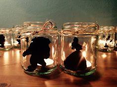 Belleza y la bestia de 6 tarro de velas regalo por JarOfStarsMagic