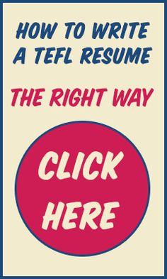 Interested in teaching abroad but not sure how to write a teaching resume? I made a tutorial that will answer any questions you have about TEFL resumes. Go here: http://atlassliced.com/how-to-write-a-tefl-resume/ #TEFL #teachEnglish #travel