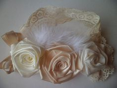 Fondness Flower Headband by HoneyBunnyBoutique72 on Etsy
