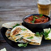 Quesadillas with Spinach and Mushrooms with Roast Tomato Salsa: Recipe Roasted Tomato Salsa, Roasted Tomatoes, Woolworths Food, What's Cooking, Cooking Recipes, Spinach Stuffed Mushrooms, Salsa Recipe, Quesadillas, What To Cook