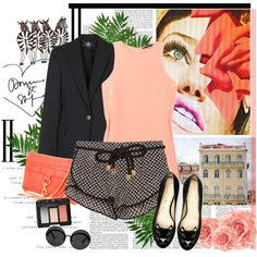 """""""It's Coral Time!"""" by bklana on Polyvore"""