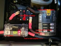 Interior fuse box diagram Ford Ranger (2006, 2007, 2008