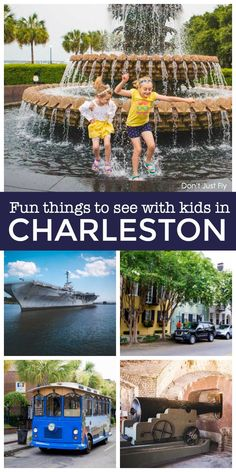 Planning a trip to Charleston SC for your next family vacation? Plan ahead and get the best list of things to do with your kids during the trip. Best Family Vacation Spots, Family Road Trips, Family Travel, Family Vacations, Disney Vacation Planning, Disney Vacations, Vacation Ideas, Romantic Vacations, Romantic Getaway