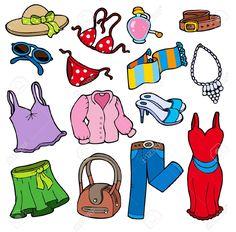 dibujos de prendas de ropa - Buscar con Google