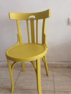 Silla restaurada y customizada - 143047812 - Muebles, Deco y Jardín Painted Chairs, Chalk Paint, Nespresso, Dining Chairs, Shabby, Upcycle, Diy, Furniture, Home Decor