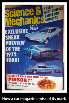 Car Magazine, Collector Cars, Old Cars, Old Things