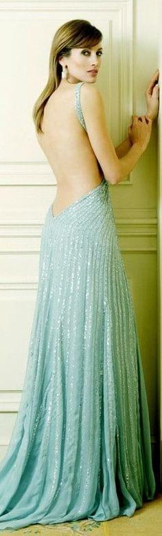 Prom Dresses, Formal Dresses, Zuhair Murad, Backless, Skirts, Mint, Fashion, Dresses For Formal, Moda