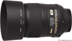 Nikon 60mm f/2.8G AF-S ED Micro Lens