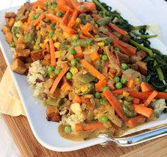 Potpie-Style Seitan over Smashed New Potatoes #vegan
