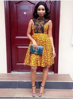 Style list this week, see what the babe's have been wearing out and about in Ankara style below. See Photos