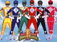 The first power rangers who come to America in 1994