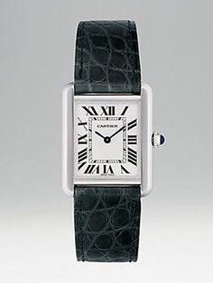 Cartier Tank Solo Stainless Steel on Strap, Small - FABULOUS Achat Montre,  Marque Montre 2f797f0a6a14
