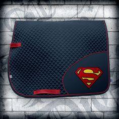 SADDLE   Saddle Pad Superman   Jump Or Die   Refuse to Lose