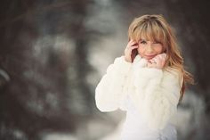 Pure White – An Edmonton winter bride Winter Bride, Bride Portrait, Winter Wedding Inspiration, Pure White, Photographers, Winter Jackets, Pure Products, Style, Fashion