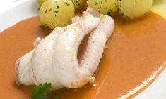 Receta de Lenguado con salsa de nécoras